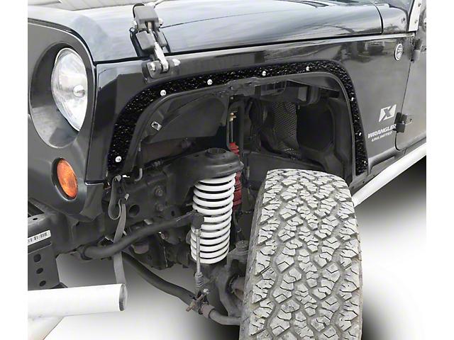 Steinjager Front Fender Deletes - Textured Black (07-18 Jeep Wrangler JK)