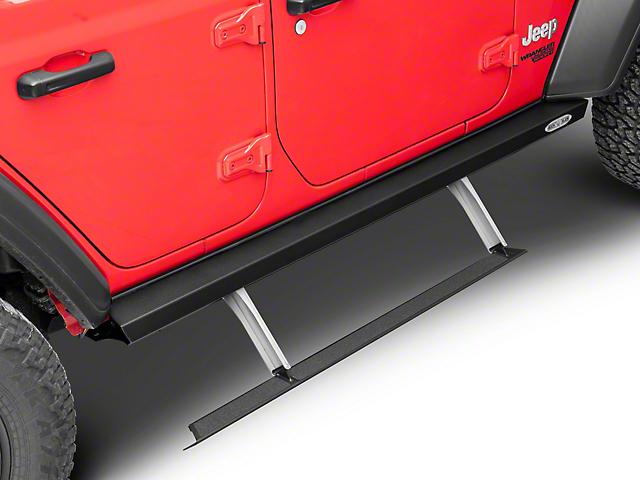 Rock-Slide Engineering Gen II Step Sliders (18-20 Jeep Wrangler JL 4 Door)