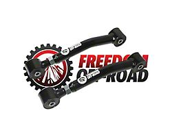 Freedom Offroad Adjustable Lower Control Arms for 0-8 in. Lift (97-06 Jeep Wrangler TJ)