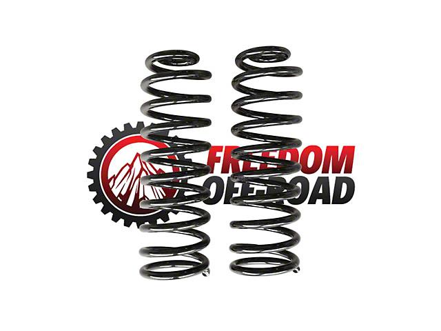 Freedom Offroad 3.5 in. Rear Lift Springs (07-18 Jeep Wrangler JK 2 Door)