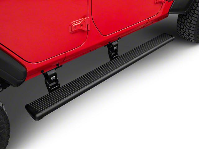 Amp Research PowerStep Running Boards (18-20 Jeep Wrangler JL 4 Door)