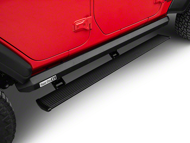 Amp Research PowerStep XL Running Boards (18-20 Jeep Wrangler JL 4 Door)