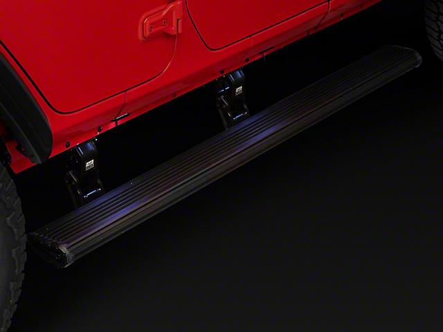 Amp Research PowerStep Xtreme Running Boards (18-20 Jeep Wrangler JL 4 Door)