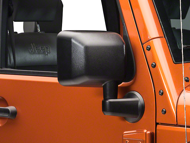 Replacement OE Style Door Mirror - Passenger Side (07-18 Jeep Wrangler JK)