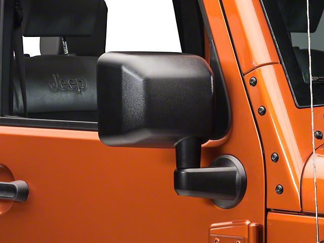Replacement Mirror; Passenger Side (07-18 Jeep Wrangler JK)