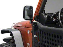 Body Armor 4x4 Mirrors for Trail Doors (97-18 Jeep Wrangler TJ & JK)
