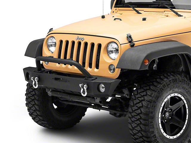 Barricade Trekker Front Bumper (07-18 Jeep Wrangler JK)