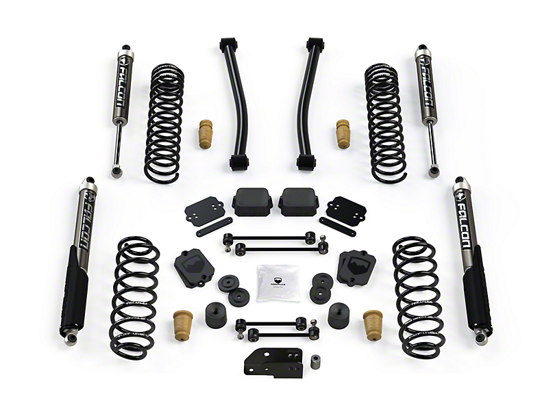 Teraflex 2.5 in. Sport S/T2 Suspension Lift Kit w/ Falcon 2.1 Shocks (18-20 Jeep Wrangler JL 2 Door)