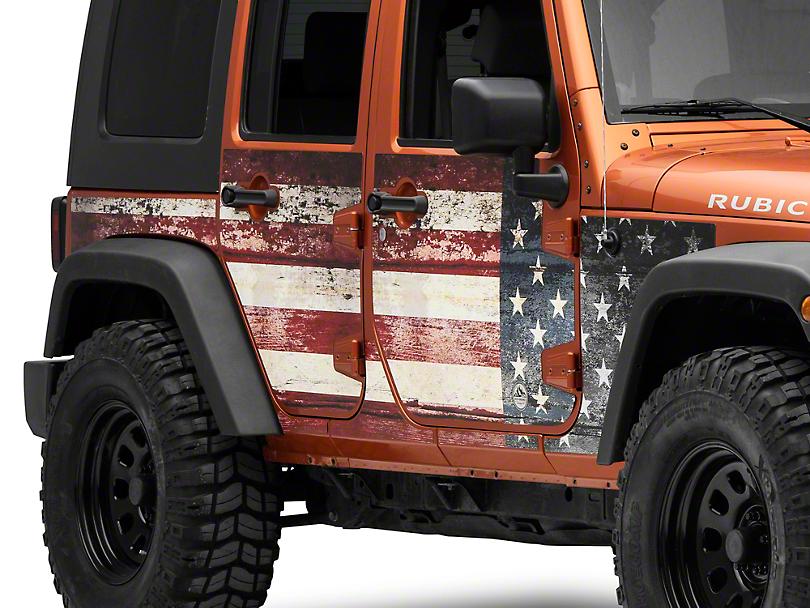 Mek Magnet Magnetic Body Armor - The Patriot (07-18 Jeep Wrangler JK 4 Door)