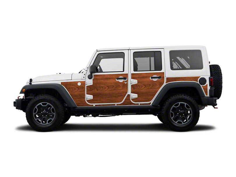 Mek Magnet Magnetic Body Armor - The Woody (07-18 Jeep Wrangler JK 4 Door)