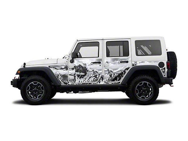 Mek Magnet Magnetic Body Armor - The Rockies (07-18 Jeep Wrangler JK 4 Door)