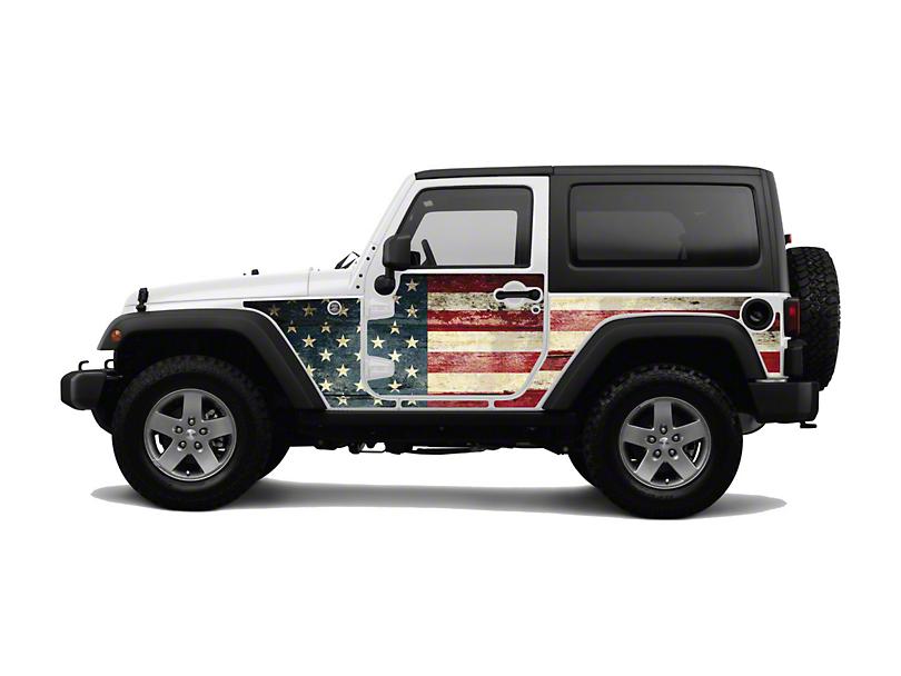 Mek Magnet Magnetic Body Armor - The Patriot (07-18 Jeep Wrangler JK 2 Door)