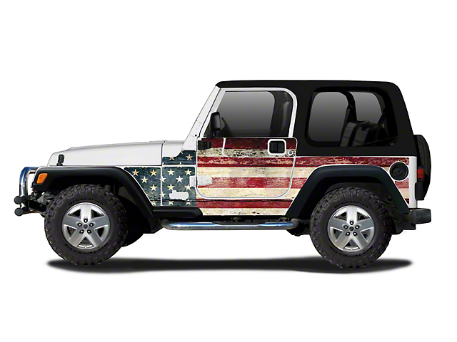 Mek Magnet Magnetic Body Armor; The Patriot (97-06 Jeep Wrangler TJ, Excluding Unlimited)