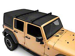 Barricade Two Bar Removable Roof Rack (07-18 Jeep Wrangler JK 4-Door)
