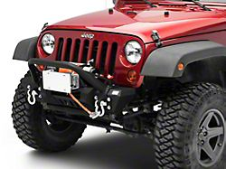 Roller Fairlead License Plate Mounting Bracket (07-18 Jeep Wrangler JK)