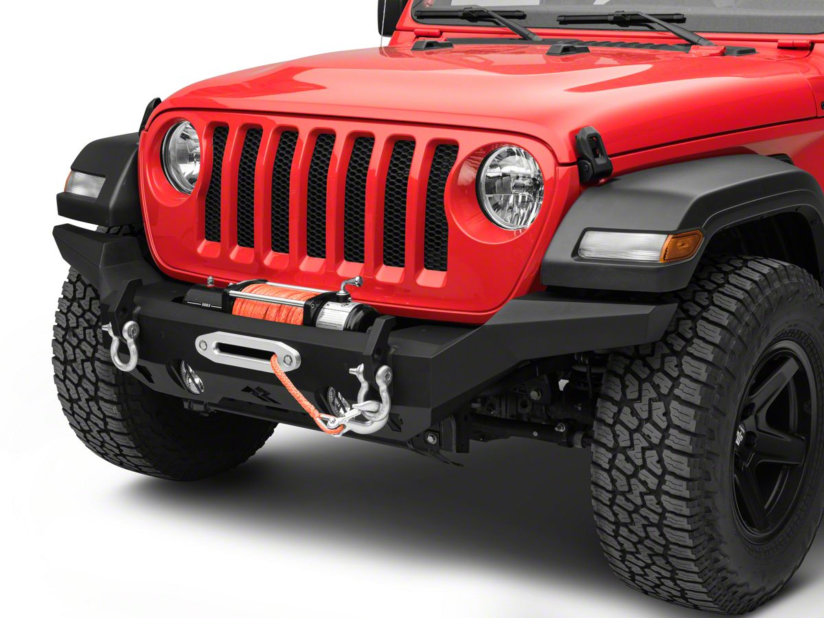 Rugged Ridge Jeep Wrangler Hd Full Width Front Bumper 11540 31 18 21 Jeep Wrangler Jl