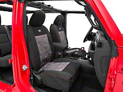 ARB Seat Skin Front Seat Covers; Black (18-20 Jeep Wrangler JL 4 Door)
