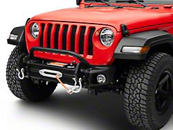 Rugged Ridge Arcus Front Bumper with Over-Rider Hoop (18-21 Jeep Wrangler JL)