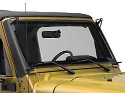 Fishbone Offroad 52-Inch LED Light Bar Windshield Mounting Brackets (97-06 Jeep Wrangler TJ)
