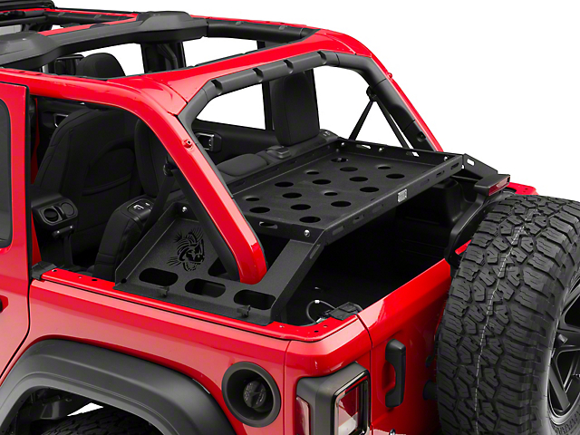 Fishbone Offroad Interior Storage Rack (18-20 Jeep Wrangler JL 4 Door)