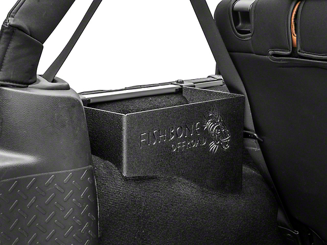 Fishbone Offroad Wheel Well Storage Bins (07-18 Jeep Wrangler JK 4 Door)
