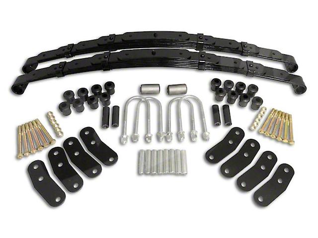Heavy Duty Rear Leaf Spring Kit (87-95 Jeep Wrangler YJ w/ Dana 35 Rear Axle)