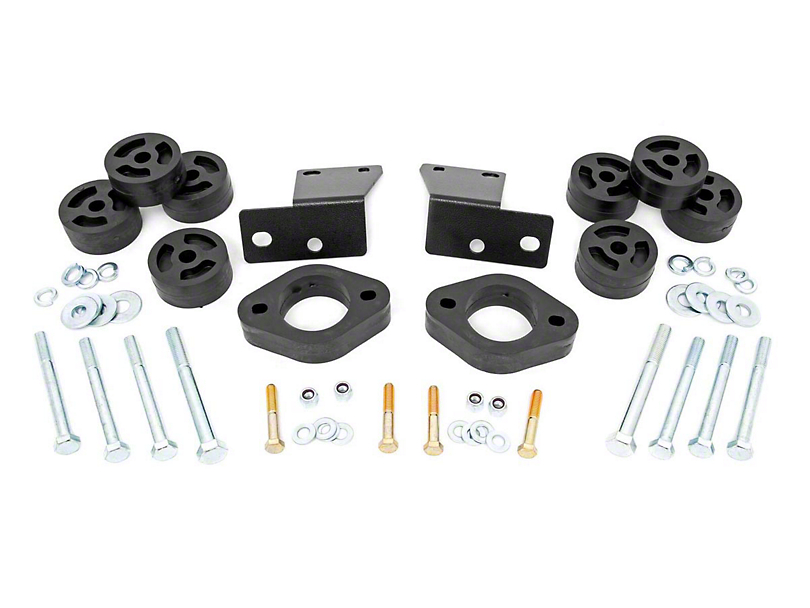 Rough Country 1.25 in. Body Lift Kit (18-20 Jeep Wrangler JL w/ Automatic Transmission)