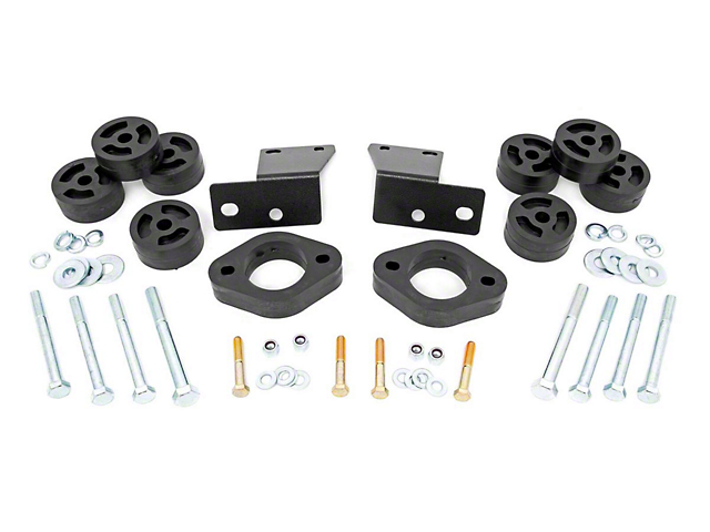 Rough Country 1.25-Inch Body Lift Kit (18-20 Jeep Wrangler JL w/ Automatic Transmission)