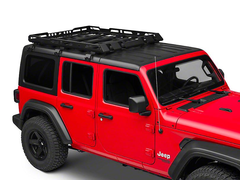 Rugged Ridge Hard Top Roof Rack (18-20 Jeep Wrangler JL 4 Door)