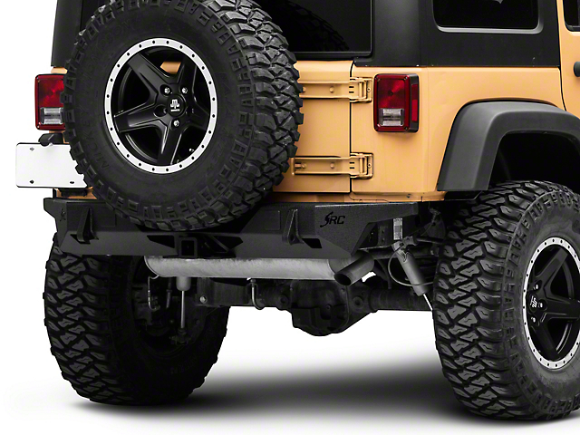 Smittybilt SRC Carbine Rear Bumper (07-18 Jeep Wrangler JK)