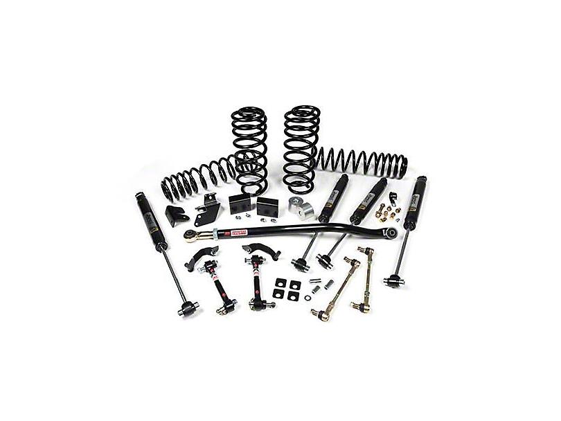 JKS J-Rated 2.5 in. Suspension Lift Kit w/ JSPEC Gas Shocks (18-20 Jeep Wrangler JL 4 Door)