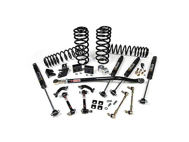 JKS J-Rated 2.50-Inch Suspension Lift Kit with JSPEC Gas Shocks (18-20 Jeep Wrangler JL 4 Door)