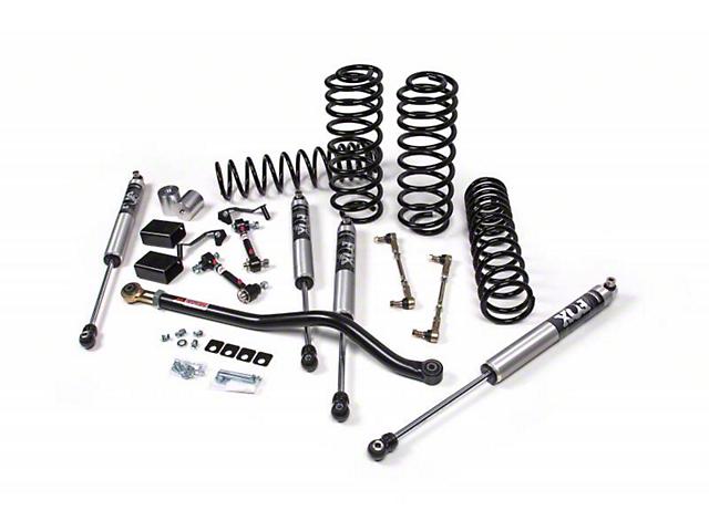 JKS J-Rated 3.5 in. Suspension Lift Kit w/ Fox Shocks (18-20 Jeep Wrangler JL 4 Door)