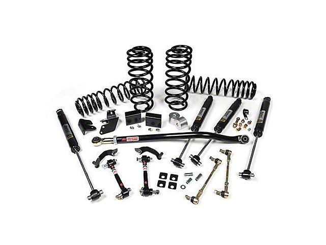 JKS J-Rated 3.5 in. Suspension Lift Kit w/ JSPEC Gas Shocks (18-20 Jeep Wrangler JL 4 Door)