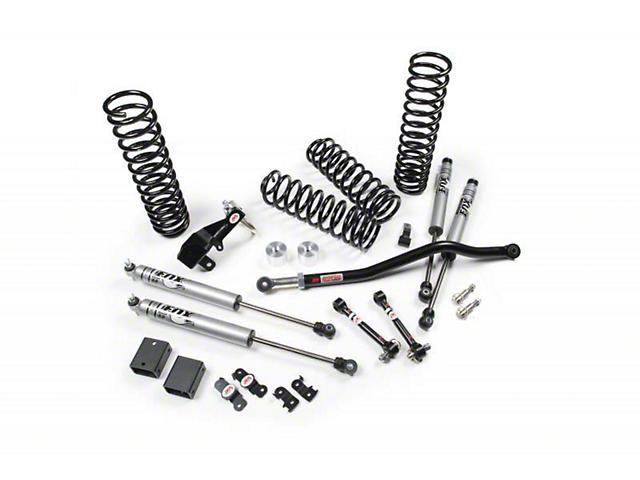 JKS JSPEC 2.50-Inch Suspension Lift Kit with Fox Shocks (07-18 Jeep Wrangler JK 2 Door)