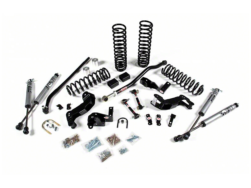 JKS JSPEC 3.5 in. JKontrol Suspension Lift Kit w/ Fox Shocks (07-18 Jeep Wrangler JK 2 Door)