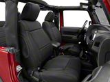 Rugged Ridge Neoprene Front Seat Covers - Black (11-18 Jeep Wrangler JK)