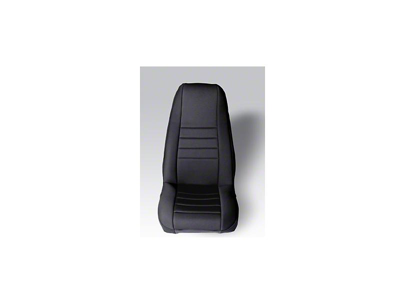 Rugged Ridge Neoprene Front Seat Covers - Black (87-90 Jeep Wrangler YJ)