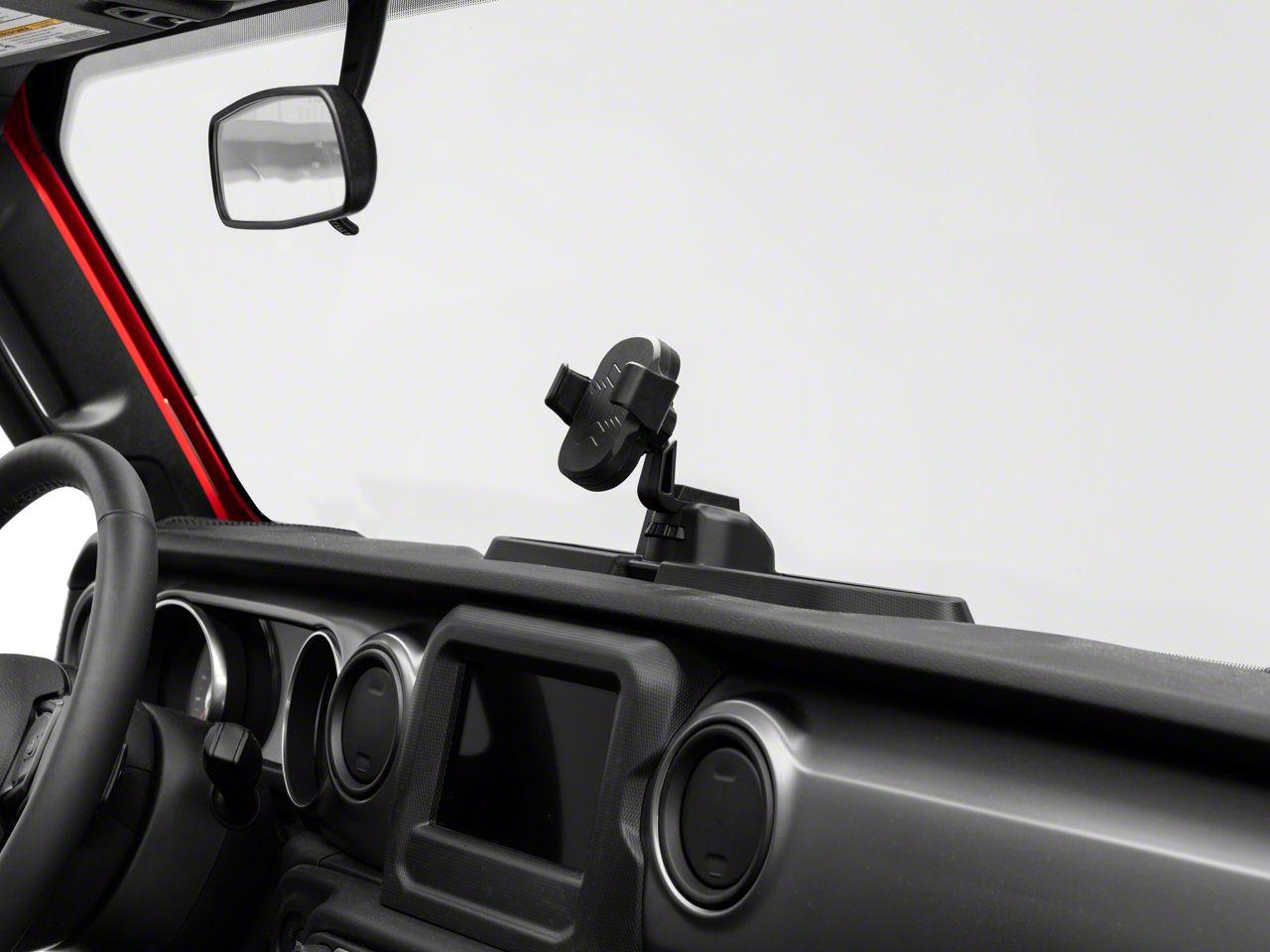 Black Interior Accessories Savadicar JL & JT Metal Phone Holder ...
