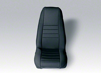 Rugged Ridge Neoprene Front Seat Covers - Black (91-95 Wrangler YJ)