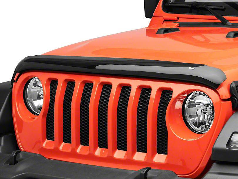 Wade Platinum Bug Shield - Smoked (18-20 Jeep Wrangler JL)