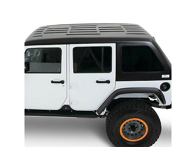 Guardian Fastback Solid Hard Top; Primer (18-21 Jeep Wrangler JL 4 Door)