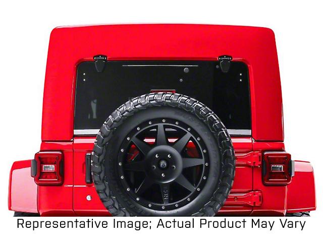 Patriot Fastbacks Surfrider Hard Top with Slider Sunroof; Textured Black (18-21 Jeep Wrangler JL 4 Door)