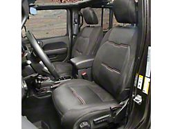 Smittybilt GEN2 Neoprene Front and Rear Seat Covers; Black (18-21 Jeep Wrangler JL 4-Door)