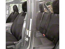 Smittybilt G.E.A.R. Custom Fit Rear Seat Cover; Black (18-20 Jeep Wrangler JL 4 Door)
