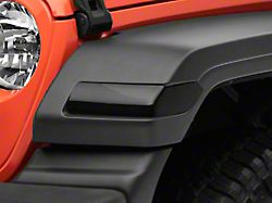 Turn Signal Covers; Smoked (20-22 Jeep Gladiator JT, Excluding Sport)