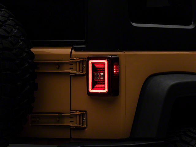 Raxiom JL Style LED Tail Lights (07-18 Jeep Wrangler JK)