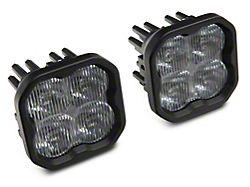 Diode Dynamics SS3 Sport Type M LED Fog Light Kit; Yellow Fog (18-21 Jeep Wrangler JL Rubicon, Sahara)