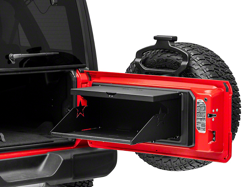 Rock-Slide Engineering Trail Tailgate Table (07-20 Jeep Wrangler JK & JL)