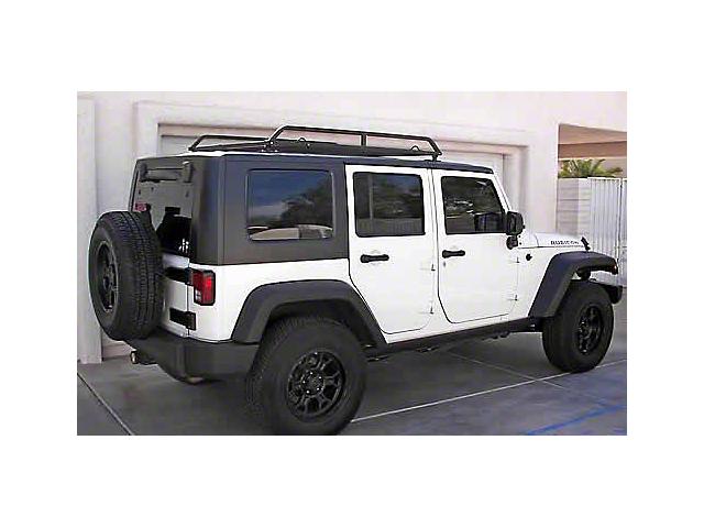 US Rack Canopy Rack; Black (07-18 Jeep Wrangler JK 4 Door)